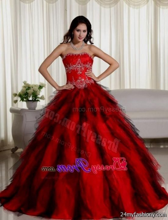 beautiful red ball gowns 2016-2017 | B2B Fashion