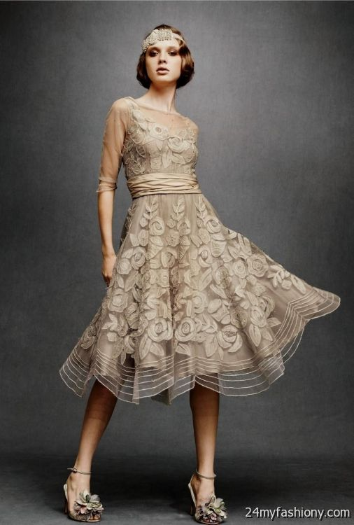 beige lace bridesmaid dress 2016-2017 » B2B Fashion