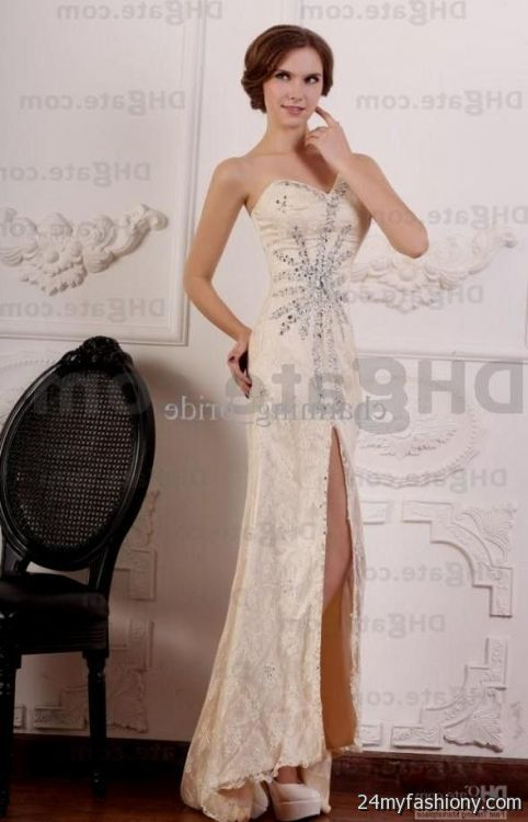 beige lace prom dresses 2016-2017 » B2B Fashion