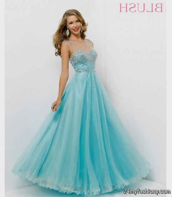best blue prom dresses in the world 2016-2017 | B2B Fashion