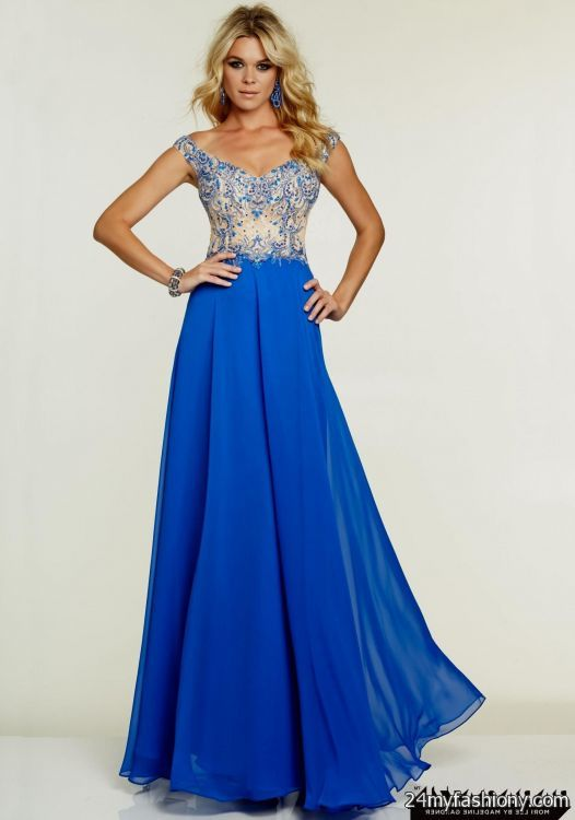 The gallery for --> Prettiest Blue Prom Dress In The World