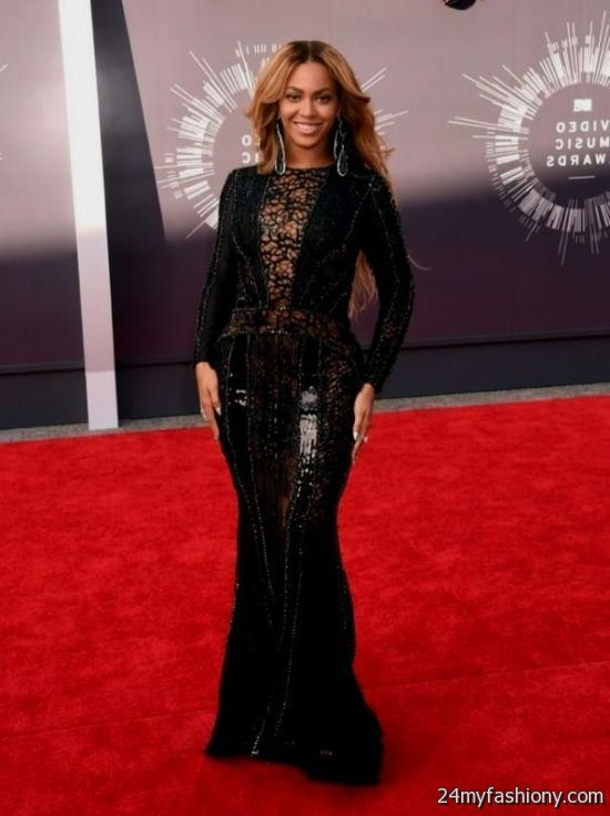 Beyonce black red carpet dresses 2016 2017 b2b fashion - Black and white red carpet dresses ...