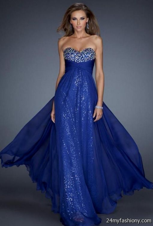 black and dark blue prom dresses 20162017 b2b fashion