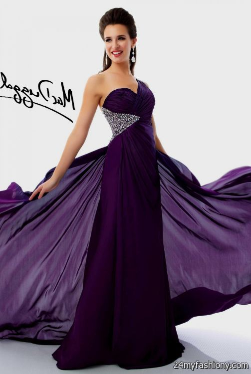 Images of Dark Purple Prom Dresses - Gift and fashion
