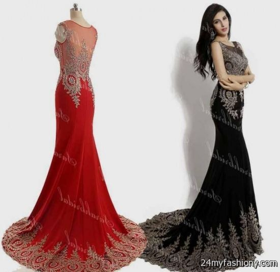Dorable Red And Black Lace Prom Dress Gift - Dress Ideas For Prom ...