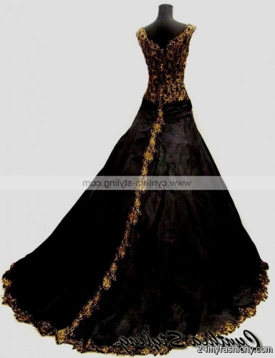 black and gold lace prom dress 20162017 b2b fashion
