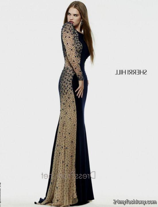 Junior prom dresses long gold