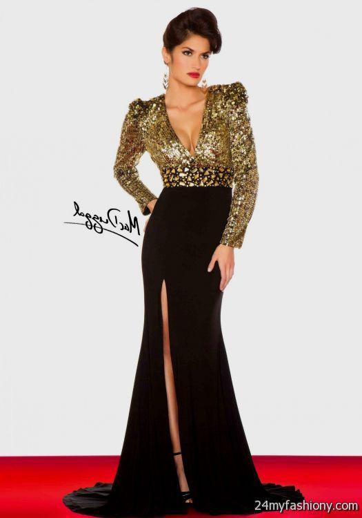 black and gold prom dresses 20162017 b2b fashion