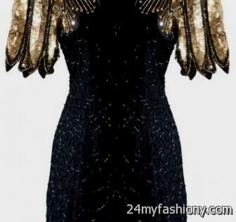5c34a17fb124c You can share these black and gold sequin party dress on Facebook, Stumble  Upon, My Space, Linked In, Google Plus, Twitter and on all social  networking ...