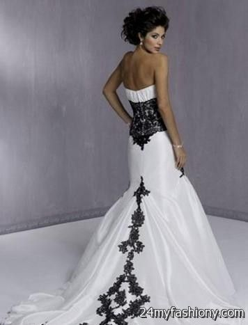 Black And Gray Wedding Dresses Looks B2b Fashion