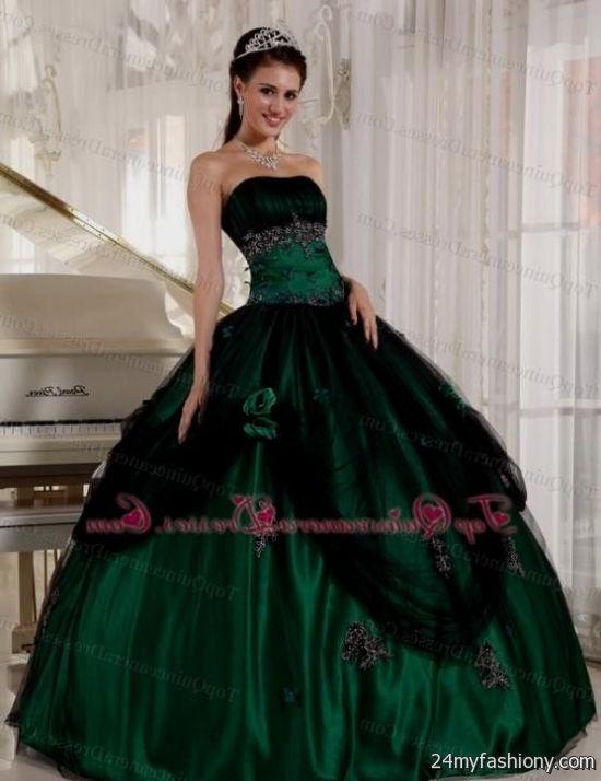 black and green ball gowns 2016-2017 » B2B Fashion