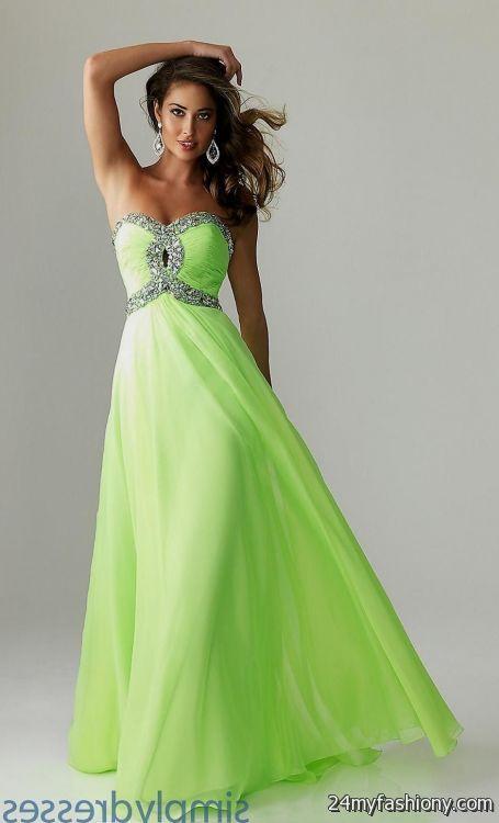Black And Lime Green Wedding Dresses Looks B2b Fashion