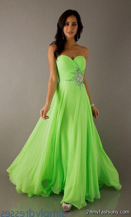 black and lime green wedding dresses looks | B2B Fashion