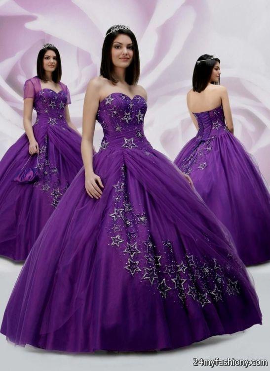 black and purple quinceanera dresses 2016-2017 » B2B Fashion