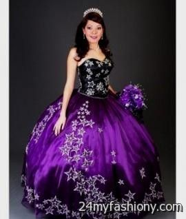black and purple sweet 16 dresses 20162017 b2b fashion