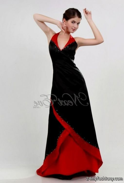 black and red bridesmaid dresses 20162017 b2b fashion