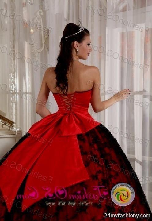 black and red sweet 16 dresses 2016-2017 » B2B Fashion