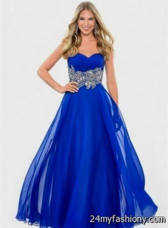 black and royal blue prom dress 2016-2017 » B2B Fashion