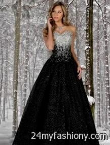 black and silver ball gowns 2016-2017 » B2B Fashion