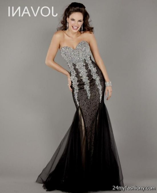 d13d7d252b18d You can share these black and silver mermaid prom dresses on Facebook