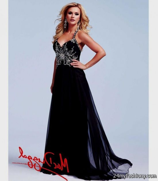black and silver prom dresses 2016-2017 | B2B Fashion
