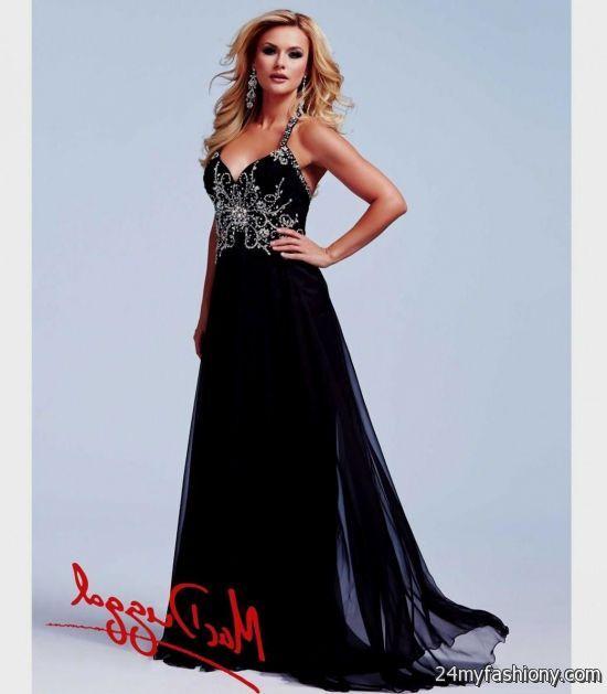 black and silver prom dresses looks | B2B