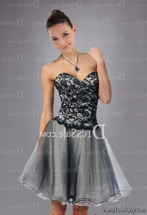 black and silver sweet 16 dresses 2016-2017 » B2B Fashion