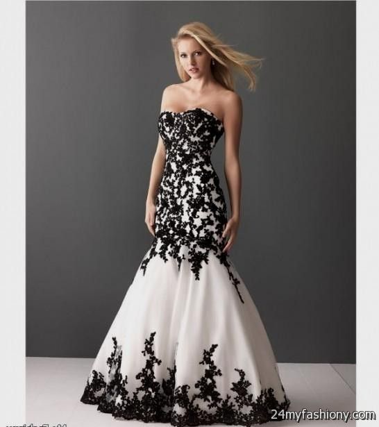 White Prom Dresses - Black Dresses 52