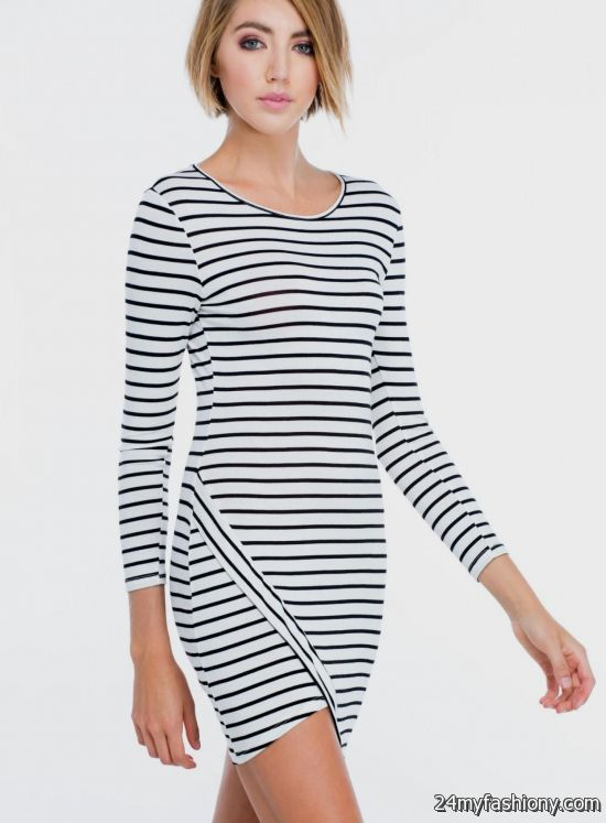 New Plus Size Bow Front Sleeveless Stripe Dress with Front Slits in Black Pink Red White and Green. $ Quick View. New Plus Size BodyCon Dress with Front Tie in Multi Color Stripe Print. $ New Plus Size Stripe Peplum BodyCon Dress with Attached Tie in .