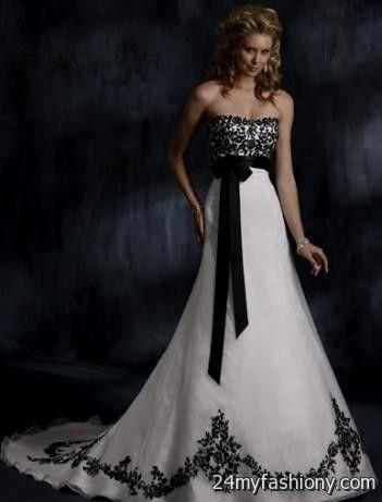 black and white wedding dresses cheap wedding