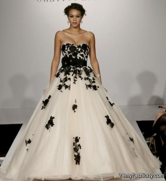 Black And White Wedding Dresses Vera Wang Looks B2b Fashion