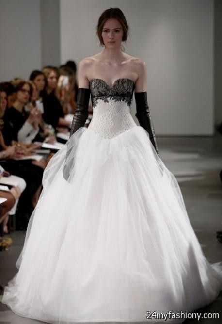 black and white wedding dresses vera wang 2016-2017 | B2B ...
