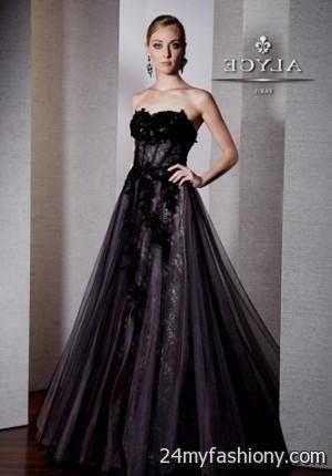 Black Corset Prom Dress Looks B2b Fashion