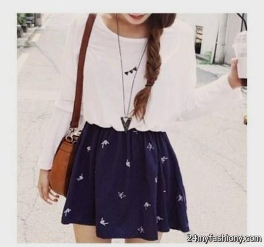 black dress outfits tumblr 2016-2017 B2B Fashion - How To Dress With Swag For Girls Tumblr