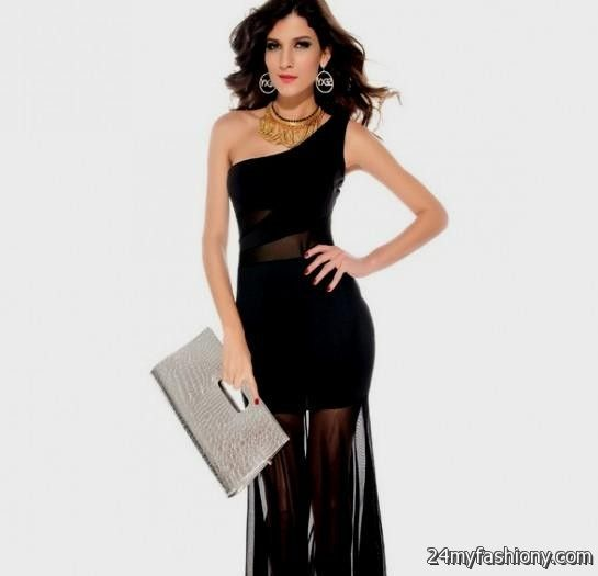 black fitted summer dress 2016-2017 » B2B Fashion