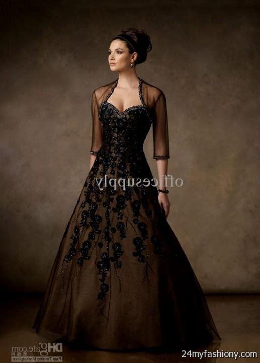 black lace ball gown 2016-2017 » B2B Fashion
