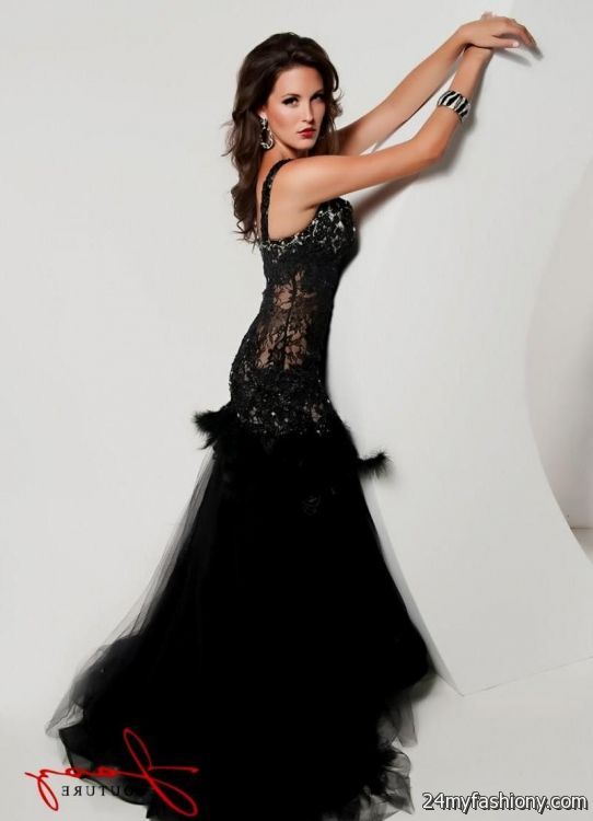 black lace corset prom dress 2016-2017 | B2B Fashion
