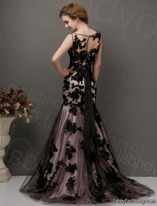 Black Lace Mermaid Wedding Dresses Wedding Dresses Thumbmediagroup