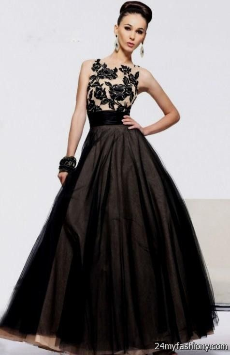 Black Lace Prom Dresses Looks B2b Fashion