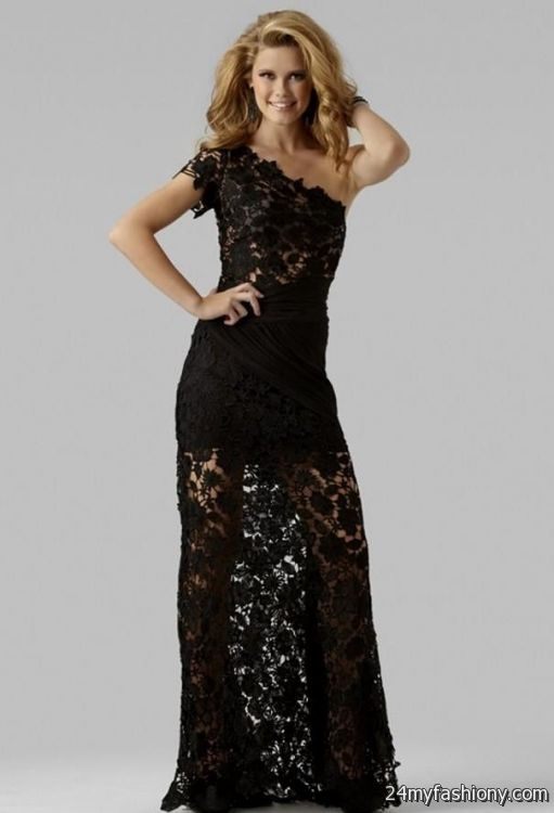 Black Lace Prom Dresses 2017 Gowns And Dress Ideas