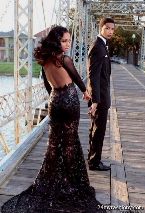 Black lace Prom Dresses tumblr 2016-2017   B2B Fashion