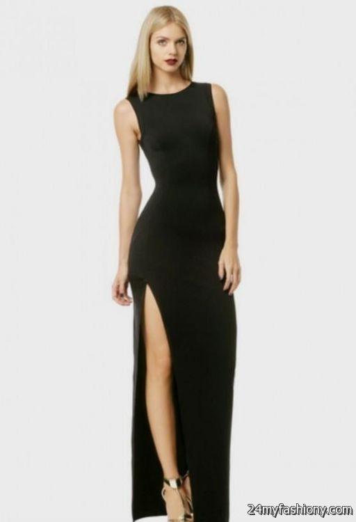 3ef9e41a3c black maxi dress formal looks