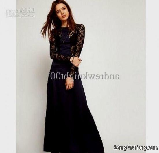 black maxi dress formal 20162017 b2b fashion