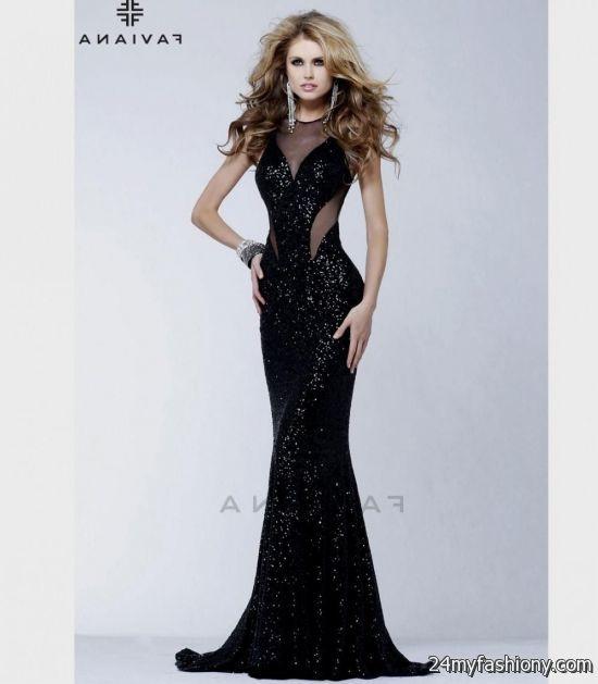 black mermaid prom dress 20162017 b2b fashion