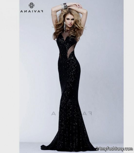 black mermaid prom dresses 20162017 b2b fashion