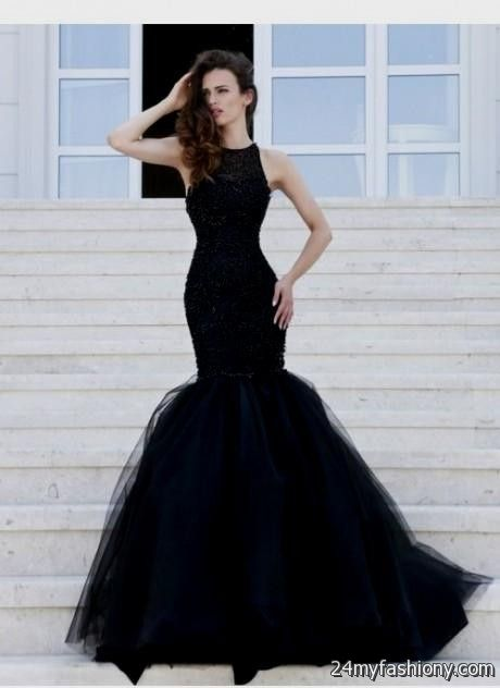 Black mermaid prom dresses 2016-2017 | B2B Fashion