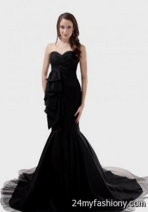 black mermaid wedding dress 2016-2017 » B2B Fashion