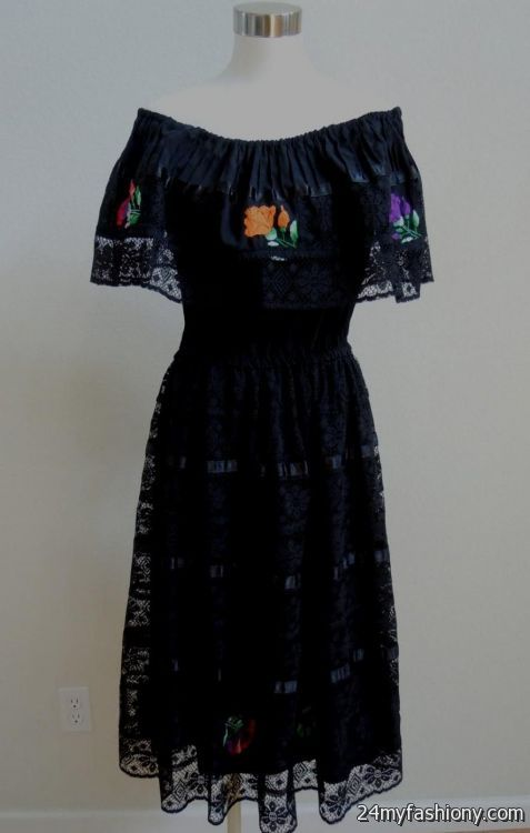 You can share these black mexican dress on Facebook, Stumble Upon, My  Space, Linked In, Google Plus, Twitter and on all social networking sites  you are ... - Black Mexican Dress 2016-2017 B2B Fashion