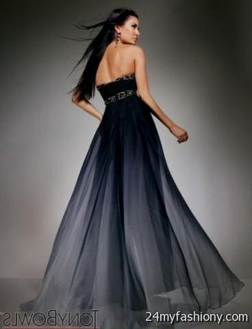 Black Ombre Wedding Dress Looks B2b Fashion
