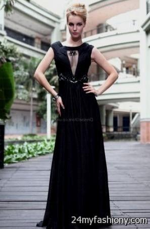 Black Prom Dresses Tumblr